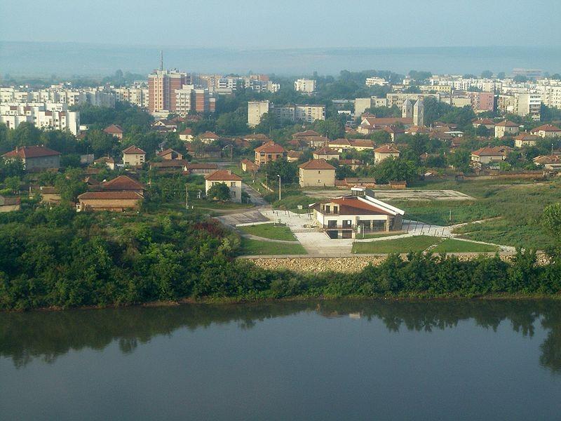 панорама на град Плевен